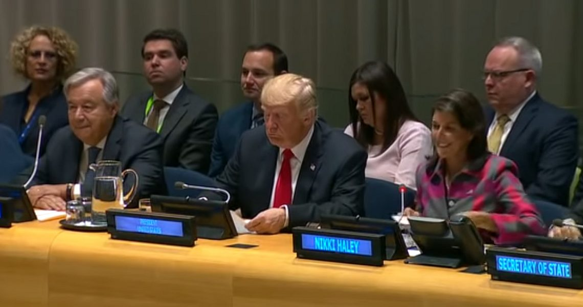"""Remarks by President Trump at """"Global Call to Action on the World Drug Problem"""" Event"""