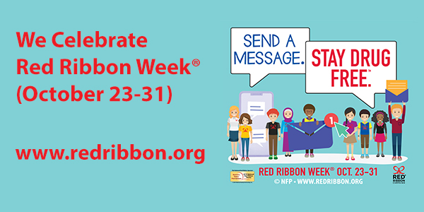 Image result for red ribbon week 2019