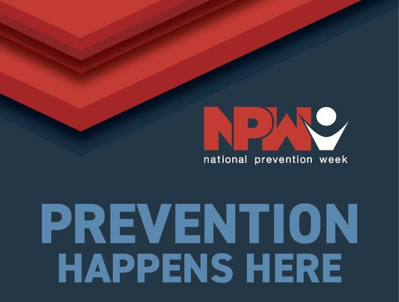 It's National Prevention Week!